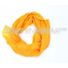 LADY POLYESTER GARMENT DYED PLAIN SCARVES