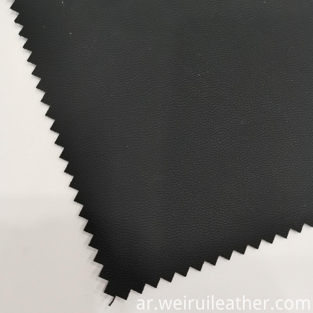 Matte Black Pvc Leather