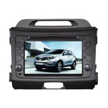 Reproductor de DVD del coche de 8 pulgadas para 2010 KIA Sportage 2011 (ts8529)