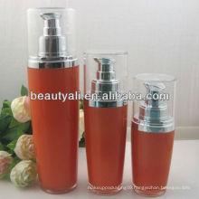 modern oval acrylic lotion bottle