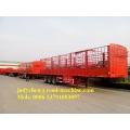 3 Axle 40ft Pagar Cargo Trailer Semi