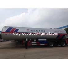 25.1T LPG Transport Tank Container Semi-Trailer
