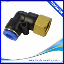 China uso general PLF accesorios neumáticos platic rápido montaje