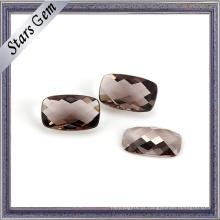Grânulos de vidro de Crystyal claros por atacado da cor do café do preço baixo