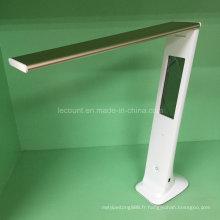 Lampe de table à LED rechargeable avec calendrier (LTB855)