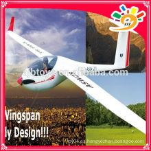 (759-1) Unibody de la escala grande de EPO tiene gusto de las aletas de la fibra de vidrio planeador modelo del rc modelo de China producciones rc aviones