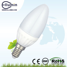good price 3w e14 e27 dimmable led candle bulb light