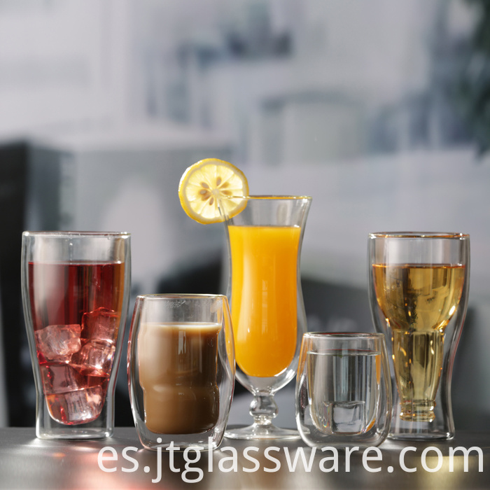 Double Layered Borosilicate Cups