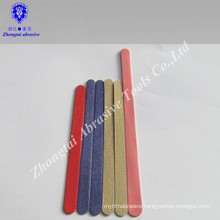 Emery board nail file wood nail file with package for promotion