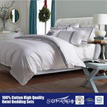 Хлопок 100% фабрики высокого качества поставки постельных принадлежностей гостиницы/недорогой отель постельных принадлежностей