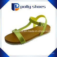 2016 Ladies Flat Sole Sandal (women sandal)