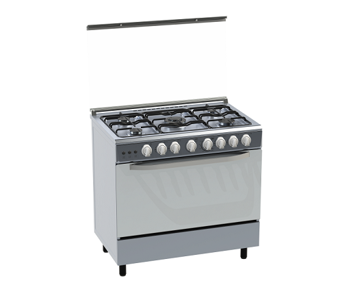 freestanding gas cooker and oven