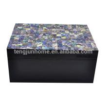 New zealand paua shell sea shells jewelry box