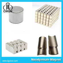 China Manufacturer Super Strong High Grade Rare Earth Sintered Permanent Step Motor Magnet/NdFeB Magnet/Neodymium Magnet