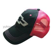 La malla personalizada se divierte la gorra de béis gorro de camionero