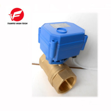 mini electric ball valve for water sensor system