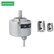 diameter 50mm solid shaft 8mm 600ppr encoder with aluminum connector