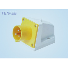 Industrial Wall Mounted Plug 16A 220-240V IP44