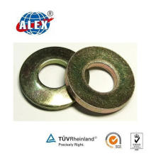 Color Zinc Plated Plain Washer for Fastening