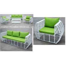 Ensemble de canapé de jardin en rotin de nouvelle conception 4 pièces (OT07)