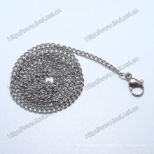 Stainless Steel Neck Chains Different Types of Necklace Chains (IO-stc008)