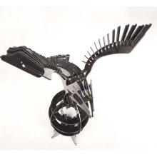 Tôle / acier inoxydable / aigle / oeuvre de coupe au laser