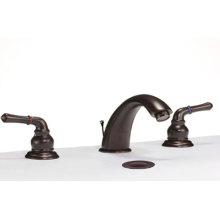 grifo de baño generalizada de 3 piezas