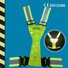 Светоотражающий светодиодный жилет для CE En 13356
