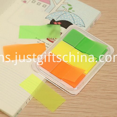 Promotional Pet Sticky Notes With 3 Color5