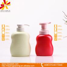 280 300ml runde Schulter ovale HDPE Handwäsche Flasche