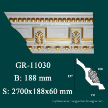 luxury decorative items wholesale crown moulding installation for ceiling design