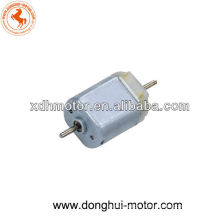 DC dual shaft toy motor,12V DC Micro dual shaft toy motor
