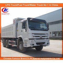 10 Wheel Sino Truck 6*4 25~30ton Payload HOWO Dump Truck for Sand and Stone