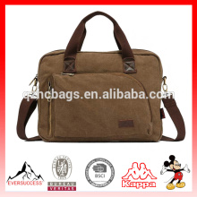 Novas Bolsas Homens Messenger sacos de conferência de lona Crossbody Bolsa de Ombro