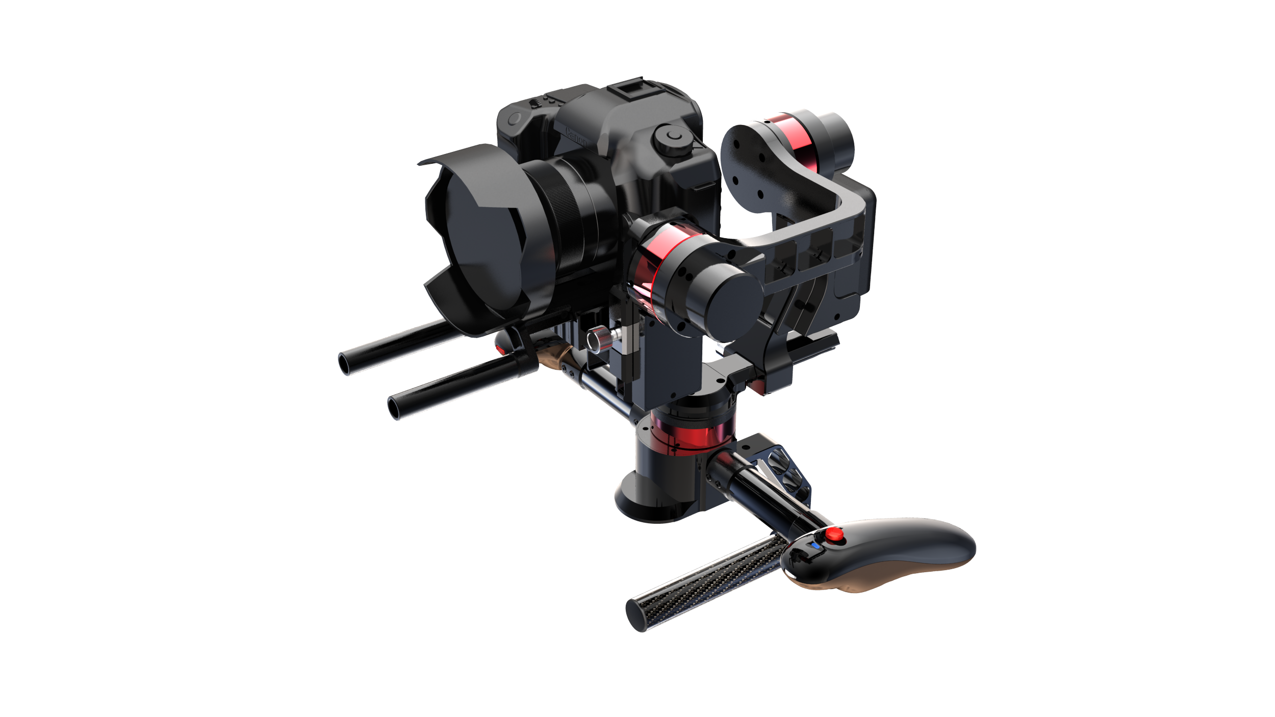 smooth video gimbal stabilizer