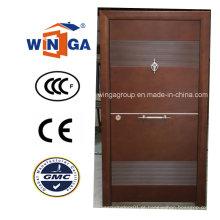 Médio Oriente Porta blindada de madeira Steel Steel de alta qualidade (W-T32)