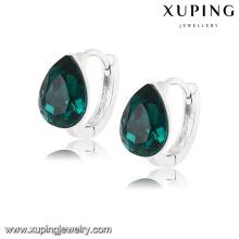 92608 Mode derniers cristaux de charme de Swarovski bijoux larme boucle d'oreille Huggie