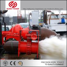 Pompe à lisier diesel pour extraction avec granulés maxi rigides 76mm
