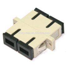 SC / PC multimodo adaptador duplex, equipamentos de comunicação, adaptador de fibra óptica