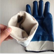 120 g poignets de sécurité bleus gants trempés au nitrile