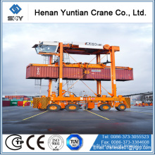 CER / ISO Standard-Stahlstruktur 50Ton Container Straddle Carrier