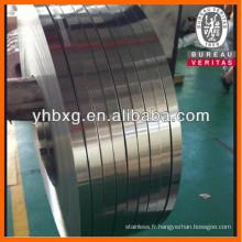 Feuille d'acier inoxydable precison 304L avec surface de BA