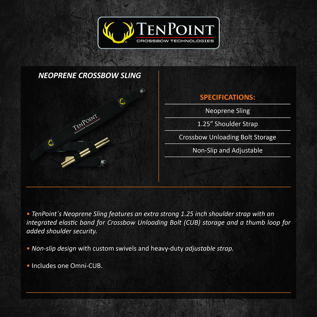TenPoint_Crossbow_Sling_Product_Description