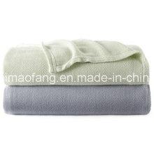 Tejido Herringbone tejen 100% manta de bambú (NMQ-BB004)