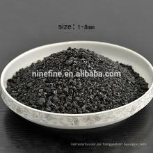 bajo contenido de azufre 0.05% Graphitized Petroleum Coke gpc