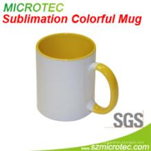 Sublimação 11oz Revestido Cerâmica Caneca Two-Tone Color (MT-B002H)