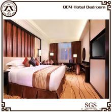 Meubles de luxe blanc Hôtel Bed Sheet