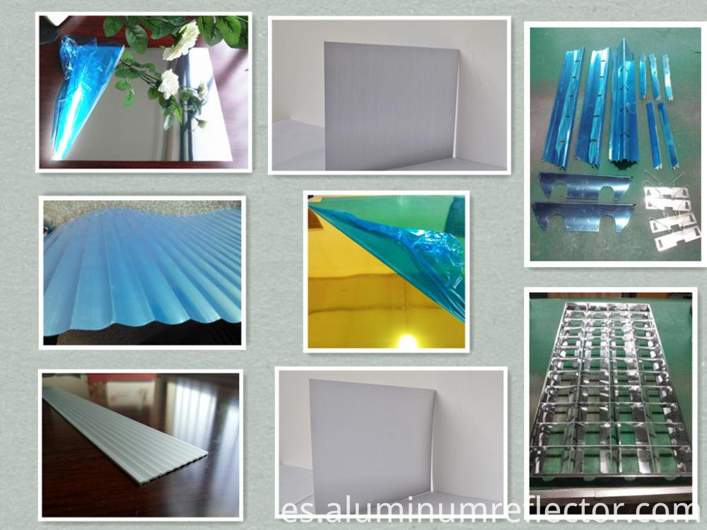 aluminum rolls application for
