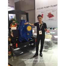 Selbstansaugende Theorie Bewässerung Diesel Wasserpumpe mit Anhänger