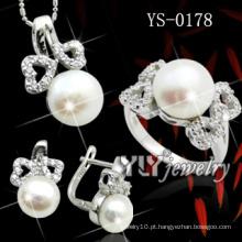 Única jóia de prata 925 esterlina definido em estoque (YS-0178)
